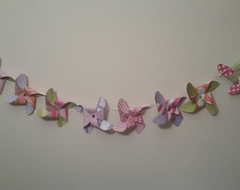Baby Girl Pinwheel Set