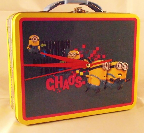 Minion Lunch Box Clock