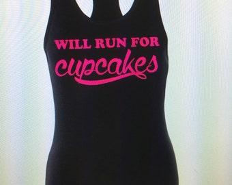 ladies shirt/women's shirt-cupcakes