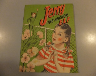 Jerry the Anchor Elf Vintage Advertising Pamphlet Book