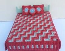 Dollshouse patchwork quilt