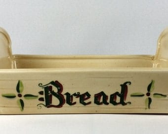 Metlox Poppytrail Homestead Provincial Bread Basket Discontinued 1950-1982