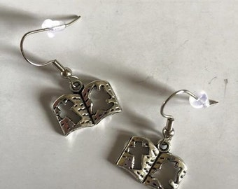 Bible Earrings - O13