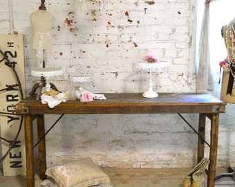 Painted Cottage Prairie Chic Wedding Table
