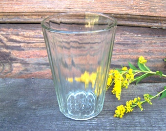 Vintage faceted glass cup Vintage Soviet glass Drinking Vodka Glass Made in USSR Soviet Glass Granyonka Russian table-glass Tea glass