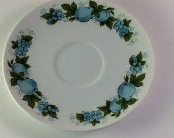 Noritake CookinServe China 6695 Blue Orchard - Saucer