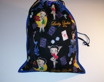 LOVELY CARRYING BAG - lucky betty boop pattern design