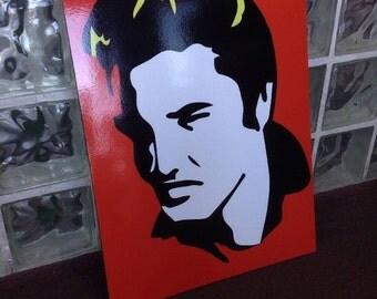 Elvis Presley Artwork Sign