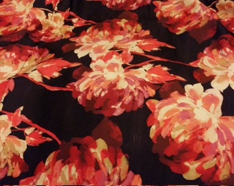 Flower prints polyester