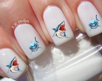 Cartoon Nails Etsy - Spongebob nail decals