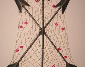 Arrow wall hanging dreamcatcher