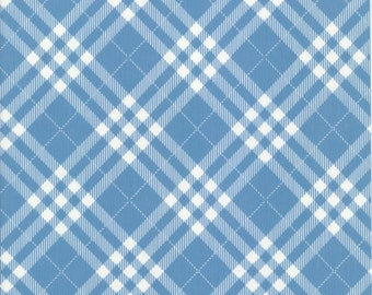 Oilcloth table cloth by the metre diamond blue 8-1