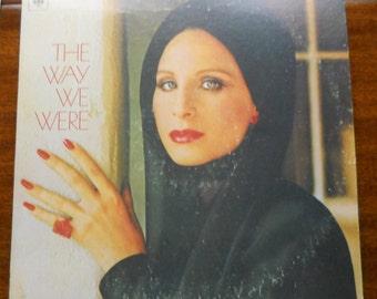 Barbara Streisand The Way We Were Vinyl LP 1974