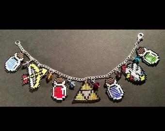 Legend of Zelda charm bracelet