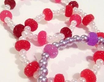 Sparkling Pearl Bracelets