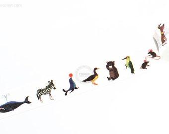 Alain Gr'ee animals mt ex washi masking tape