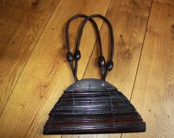 Bamboo Vintage Purse Bamboo Bag Hand Bag