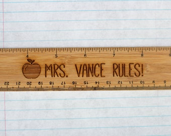 Custom Teacher Ruler