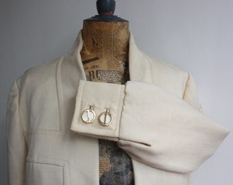 Vtg 70's Philippe Venet Cream Jacket