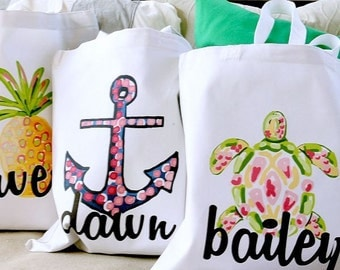 Tropical Totes- Personalized