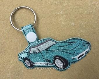 C3 Corvette Key Fob Keychain