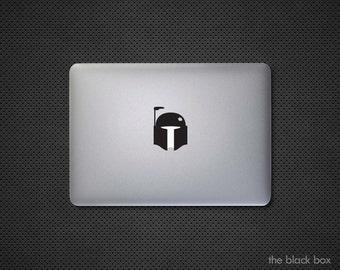 Star Wars inspired Boba Fett Macbook decal - Macbook sticker