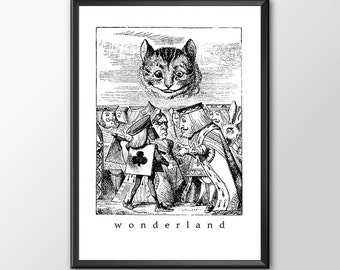 Wonderland 4 - Traditional Alice In Wonderland Art - Buy 2 GET 1 Free