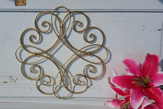 items similar to wrought iron wall decor wall medallion outdoor wall decor iron wall art metal. Black Bedroom Furniture Sets. Home Design Ideas