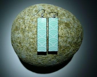 popular items for earring rectangle on etsy