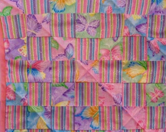 Butterfly Doll Quilt