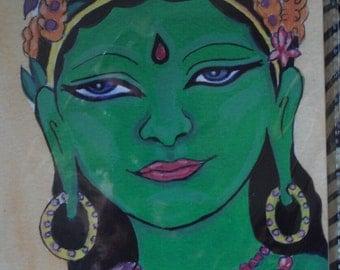 Stunning Greeen Tara gift card