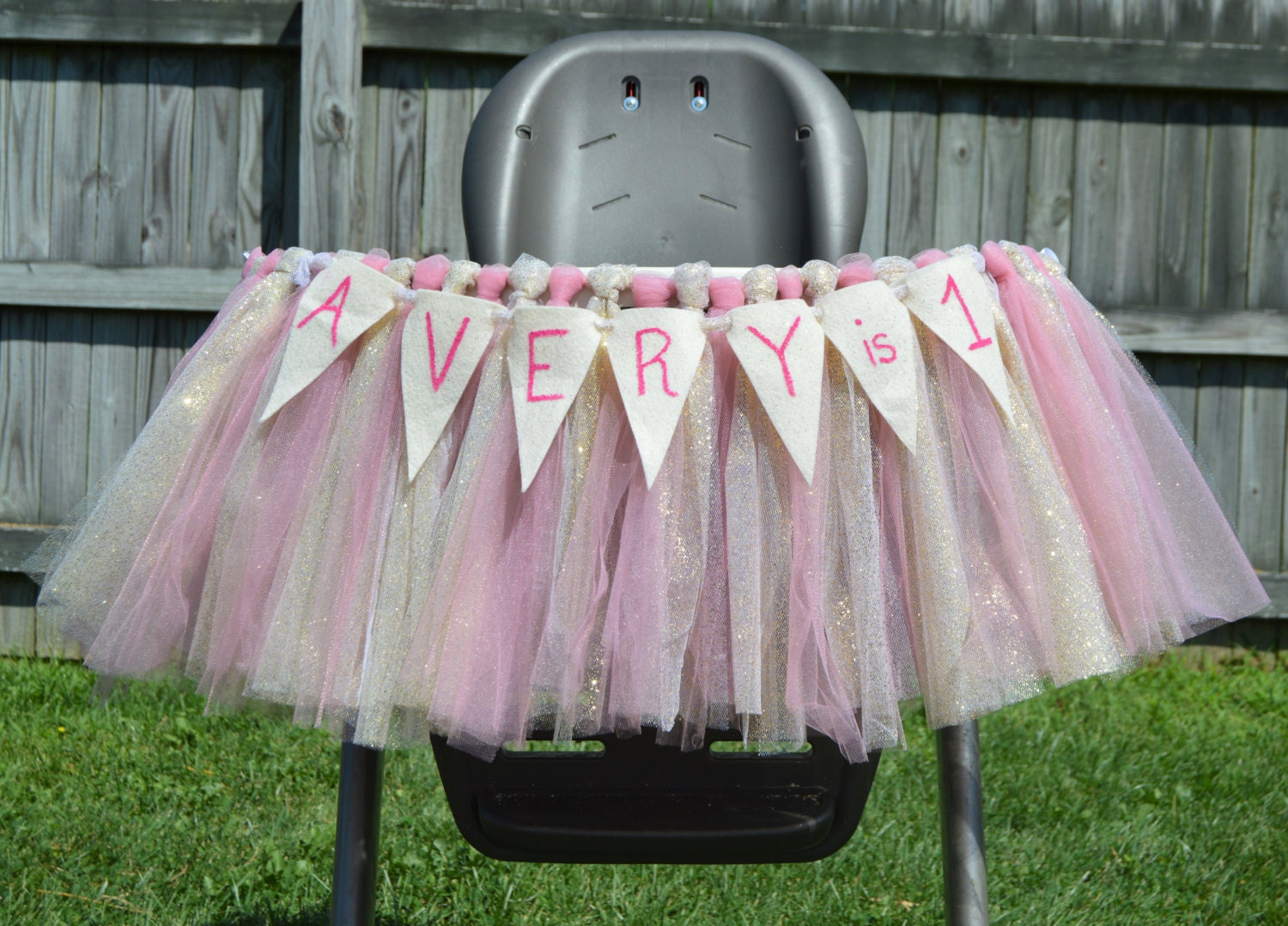 high chair tutu high chair skirt tutu tulle birhtday