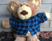 Vintage 1984 Xavier Roberts  Furskins Doll, Cabbage Patch Doll, CPK Furskins