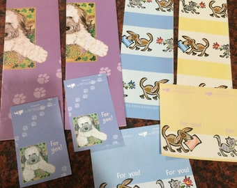 Cats and Dogs Wrapping Paper