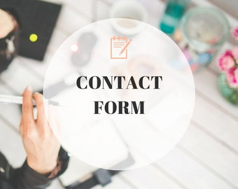 Contact Form Page, Premade Blogger Template - Contact Form Page, Custom blogger template, Contact Form Page Add-on, Add-on, blogger template
