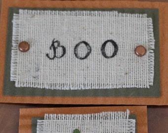 Boo - Handmade Embellishments
