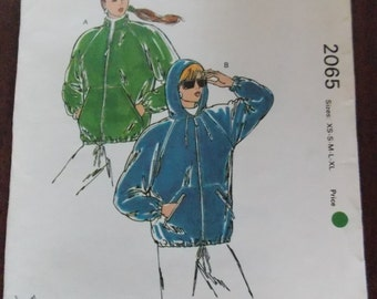 Sewing pattern Kwik Sew 2065 Misses' jackets new uncut size XS to XL