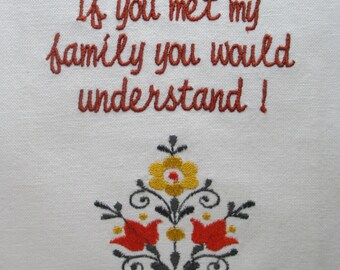 145 If you met my family