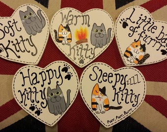 Soft Kitty , Warm Kitty Coaster Set