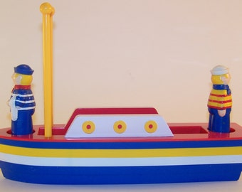Nautical Themed Sal and Pepper Shakers/Napkin Holder