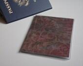 US Passport Case Passport Cover, Flowers and Damask, Passport  Sleeve, Case, Holder