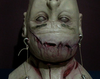 MACABRE Limited Edition Deluxe Latex Mask Zombie Scary Horror!!!