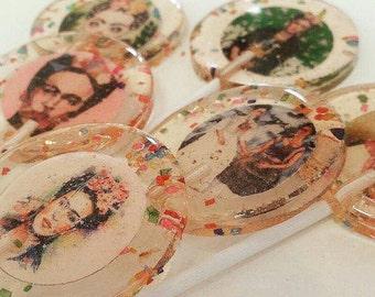 15 Frida Kahlo theme handmade lollipops