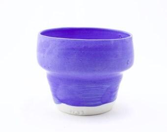 Porcelain Planter Blue