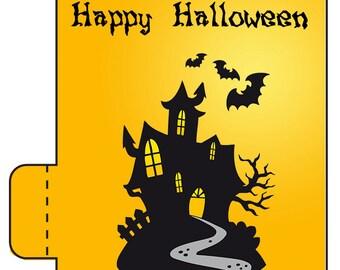 12 Halloween Lip Balm Favors - Halloween Party Favors - Halloween Lip Balms - Happy Halloween