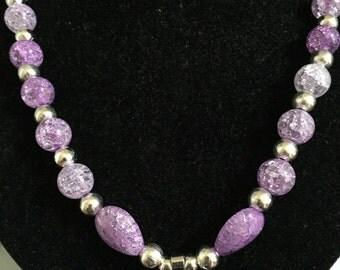 Crystals necklace