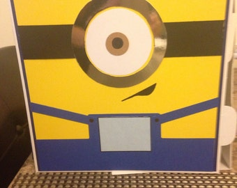 Minions themed card box