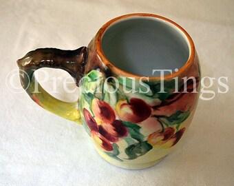 Hand-Painted Vintage Mug – Limoges Style