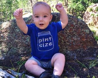 Pint Size Mason Jar infant/Toddler Shirt
