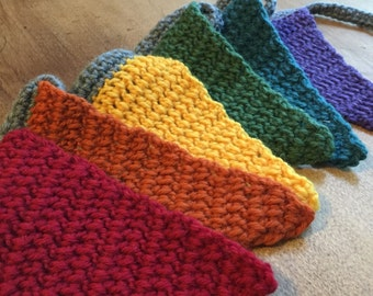 Rainbow Joy Crochet Bunting 6 Flags